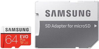 Карта пам'яті microSDXC 64GB Samsung EVO Plus Class 10 UHS-I U3 MB-MC64GA/RU 6
