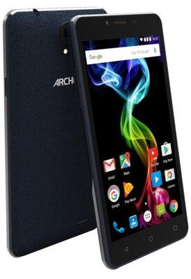 Смартфон Archos 55B 8Gb Platinum Blue 5