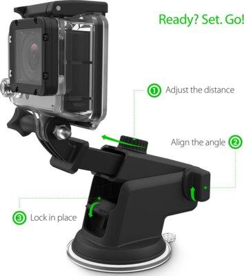 Автотримач IOTTIE Easy One Touch GoPro Cradle for GoPro (HLCRIO122GP) 1