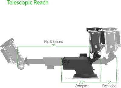 Автотримач IOTTIE Easy One Touch GoPro Cradle for GoPro (HLCRIO122GP) 3