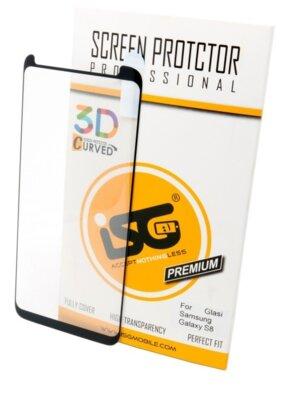 Захисне скло ISG 3D Screen Protector Full для Samsung G950 S8 Plus 1
