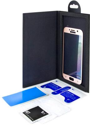Защитное стекло ADPO CurvedGlass для Samsung A5 (2017) A520 Pink-Gold 2