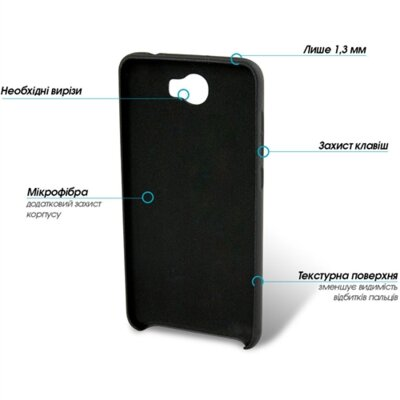 Чохол GlobalCase Cap-X для Huawei Y5 II Black 2