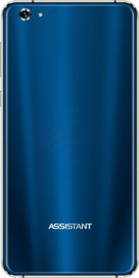 Смартфон Assistant Shine AS-5435 Blue 2