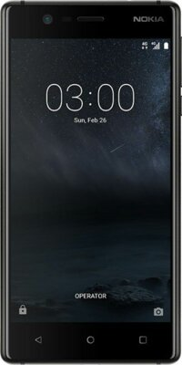 Смартфон Nokia 3 DS Matte Black 1
