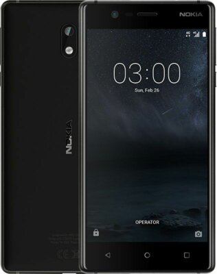 Смартфон Nokia 3 DS Matte Black 5