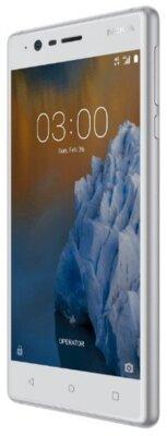 Смартфон Nokia 3 DS Silver White 4