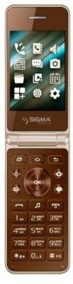 Мобільний телефон Sigma X-Style 28 Flip Gold-mokka 1