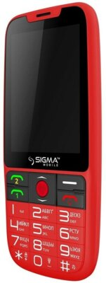 Мобільний телефон Sigma Comfort 50 Elegance Red 3