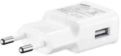 Зарядное устройство Samsung EP-TA20EWECGRU White 2