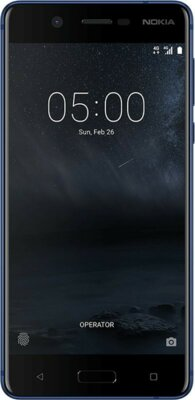 Смартфон Nokia 5 DS Tempered Blue 1