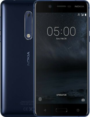 Смартфон Nokia 5 DS Tempered Blue 6