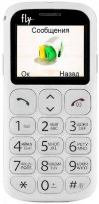 Мобильный телефон Fly Ezzy 7 White 1