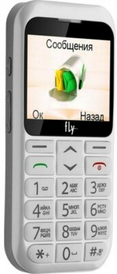 Мобильный телефон Fly Ezzy 7 White 3