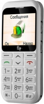 Мобильный телефон Fly Ezzy 7 White 4