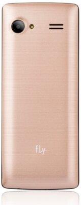 Мобильный телефон Fly FF244 Champagne Gold 2