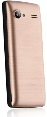 Мобильный телефон Fly FF244 Champagne Gold 4