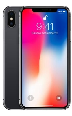 Смартфон Apple iPhone X 256Gb Space Grey 2