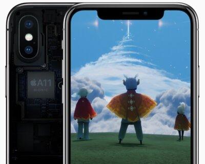 Смартфон Apple iPhone X 256Gb Space Grey 7