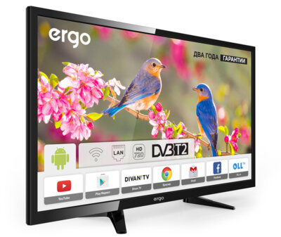 Телевізор Ergo LE32CT3500AK 2