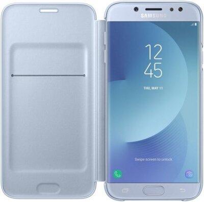 Чехол для Samsung J7 (2017) J730 Wallet Cover Blue ( EF-WJ730CLEGRU ) 1