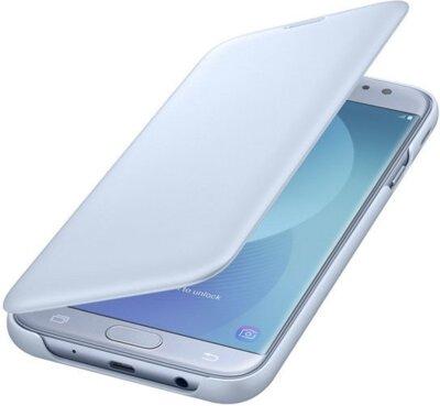 Чехол для Samsung J7 (2017) J730 Wallet Cover Blue ( EF-WJ730CLEGRU ) 2