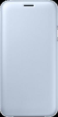 Чехол для Samsung J7 (2017) J730 Wallet Cover Blue ( EF-WJ730CLEGRU ) 3