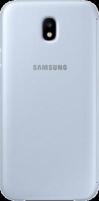Чехол для Samsung J7 (2017) J730 Wallet Cover Blue ( EF-WJ730CLEGRU ) 4