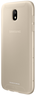 Чохол Samsung Jelly Cover Gold для Galaxy J5 (2017) J530 2