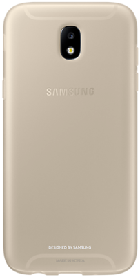 Чохол Samsung Jelly Cover Gold для Galaxy J5 (2017) J530 1