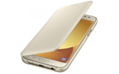 Чохол для Samsung J5 (2017) J530  Wallet Cover Gold (EF-WJ530CFEGRU) 1