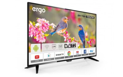Телевізор Ergo LE43CT3500AK 2