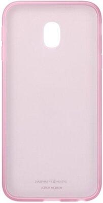 Чохол Samsung Jelly Cover Pink EF-AJ330TPEGRU для Galaxy J3 (2017) J330 4