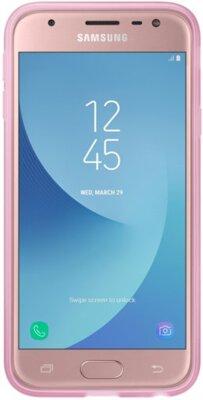 Чохол Samsung Jelly Cover Pink EF-AJ330TPEGRU для Galaxy J3 (2017) J330 5