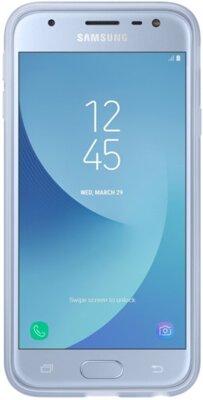 Чехол Samsung Jelly Cover Blue EF-AJ330TLEGRU для Galaxy J3 (2017) J330 3