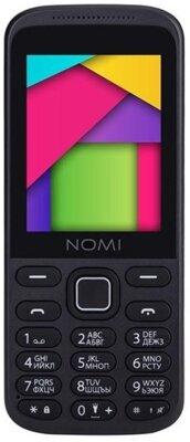 Мобильный телефон Nomi i244 Black-Red 1