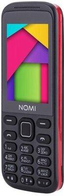 Мобильный телефон Nomi i244 Black-Red 4