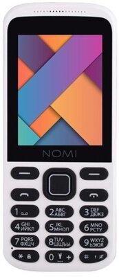 Мобильный телефон Nomi i244 White-Red 1
