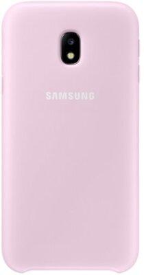 Чехол Samsung Dual Layer Cover Pink EF-PJ330CPEGRU для Galaxy J3 (2017) J330 1