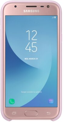 Чехол Samsung Dual Layer Cover Pink EF-PJ330CPEGRU для Galaxy J3 (2017) J330 3