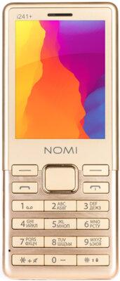 Мобільний телефон Nomi i241+ Gold 1