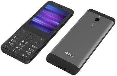 Мобильный телефон Nomi i282 Grey 10