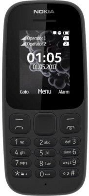 Мобільний телефон Nokia 105 SS New Black 1