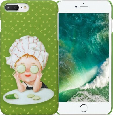 Чохол Avatti Gapchinska PC iPhone 7 Plus Cucumbers 2