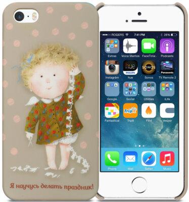 Чохол Avatti Gapchinska PC iPhone 5/5S/SE Celebration 2