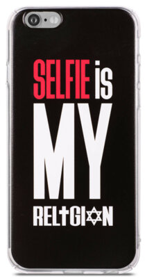 Чохол Utty B&Z PC iPhone 6/6S Selfie Religion Black 1