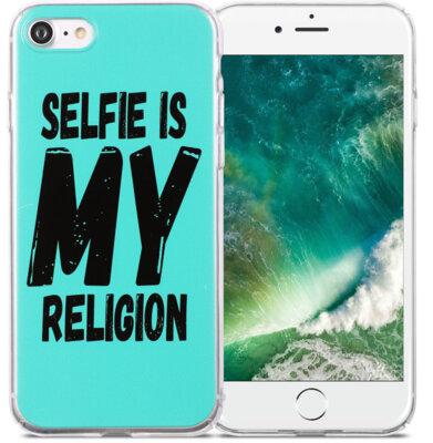 Чехол Utty B&Z PC iPhone 6/6S Selfie Religion Turquoise 1