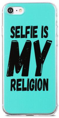 Чехол Utty B&Z PC iPhone 6/6S Selfie Religion Turquoise 2