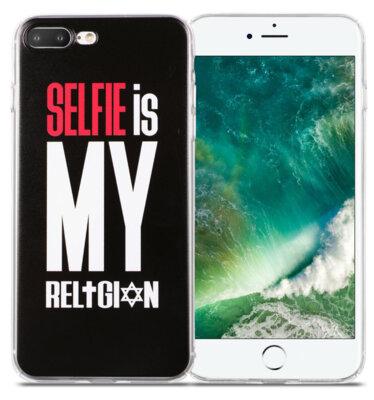 Чохол Utty B&Z PC iPhone 7 Plus Selfie Religion Black 1