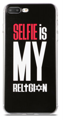 Чохол Utty B&Z PC iPhone 7 Plus Selfie Religion Black 2
